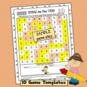 Math Game - Show Me The Ten