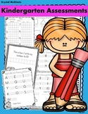 Show Me What You Know! Kindergarten ASSESSMENTS For Basic Academic Skills
