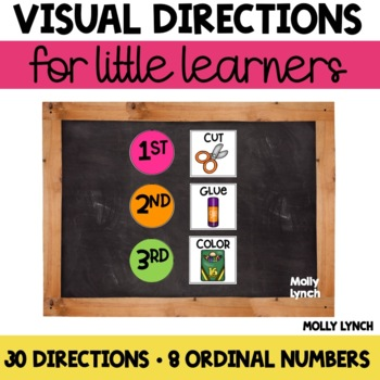 Visual Direction Cards for Little Learners