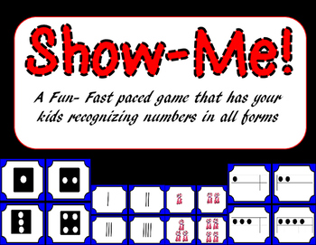 Show Me!- a fast paced number recognition Game