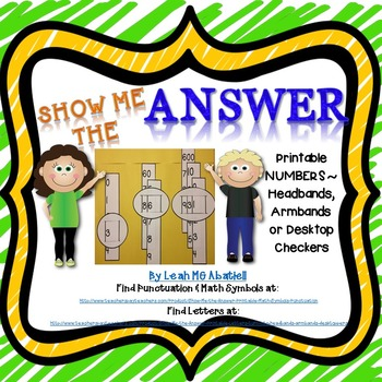 Show Me the Answer  - Numbers
