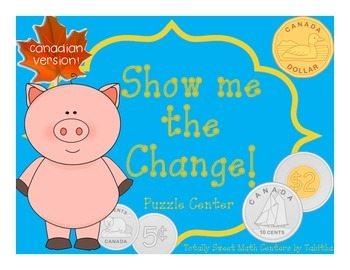 Show Me the Change! A Puzzle Station for Canadian Coins