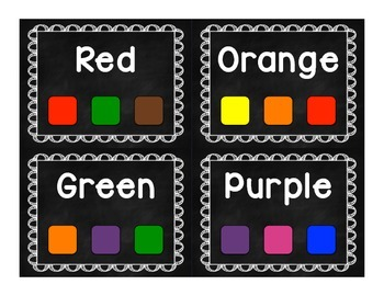 Show Me the Color! English/Spanish Bundle
