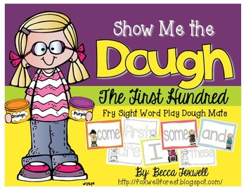 Show Me the Dough! {First Hundred Fry Sight Word Mats}