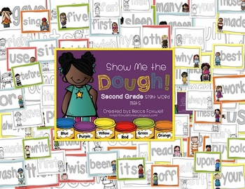 Show Me the Dough! {Second Grade Sight Word Mats}