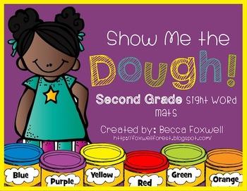 Show Me the Dough! {Second Grade Sight Word Mats}