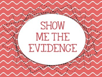 Show Me the Evidence Signs!