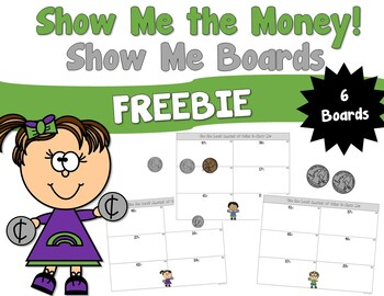 Show Me the Money Boards FREEBIE