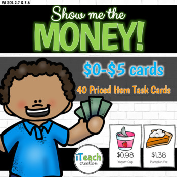 Show Me the Money : Differentiated Hands-On Money Activity for Math Centers
