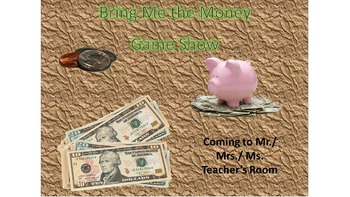 Bring Me the Money Game Show Flyer