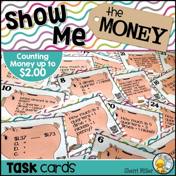 Show Me the Money Task Cards