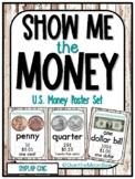 Show Me the Money | U.S. Money Poster Set | Shiplap Chic |
