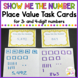 Show Me the Number - Creating Place Value Models for 3 & 4