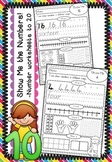 Show Me the Numbers - Number Worksheets to 20
