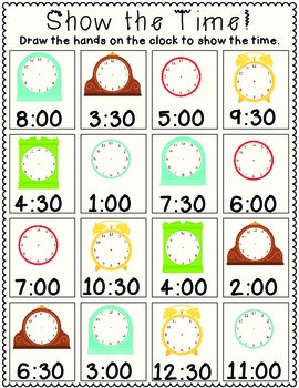 Show the Time!