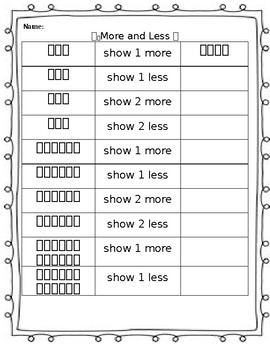 Show More and Less
