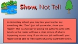 Show, Not Tell