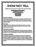 Show Not Tell