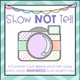 Show Not Tell - Descriptive Writing Mini Unit