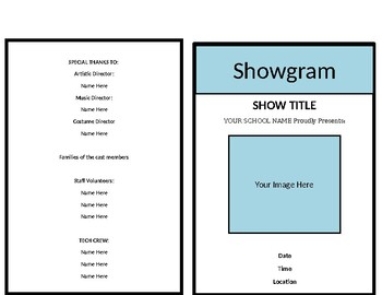 Show Program