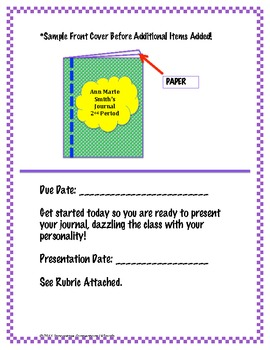 Show Some Personality: Personalized Student Journal for Presentation!
