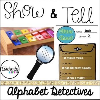 Show & Tell Alphabet Pack