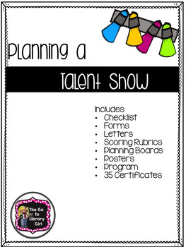Planning a Talent Show