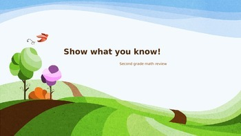 Show What You Know, 2nd Grade Math Review