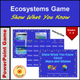 Show What You Know About Maps & Globes Review Game
