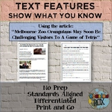 """Show What You Know About TEXT FEATURES: """"Zoo Tetris"""""""