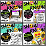 Show What You Know BUNDLE