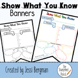 Unit Review Banners-Show What You Know