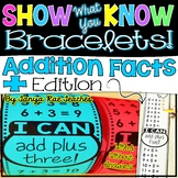 Show What You Know Bracelets! Addition Facts Edition