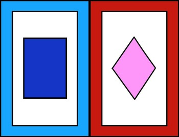 Interactive Whiteboard Game: 2d Shapes