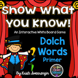 Interactive Whiteboard Game:Dolch Primer Words