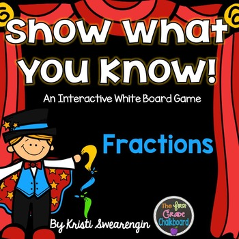 Interactive Whiteboard Game: Fractions