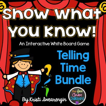 Interactive Whiteboard Game: Telling Time Bundle