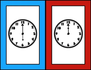 Interactive Whiteboard Game: Telling Time to the Hour