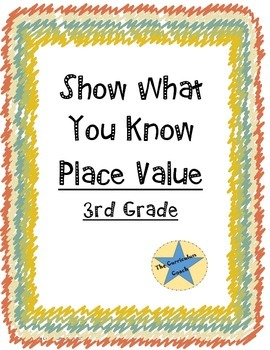 Show What You Know-Place Value