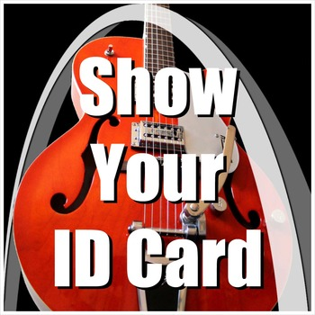 Personal Information Song - Show Your ID Card