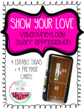 Show Your Love Valentine's Day Staff Appreciation