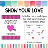 Show Your Love Valentine's Day Staff Appreciation