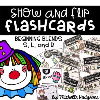 Show and Flip Flashcards (Beginning Blends)