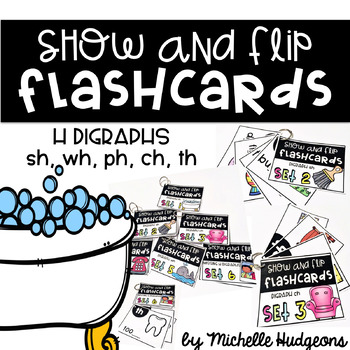 Show and Flip Flashcards (H Digraphs)