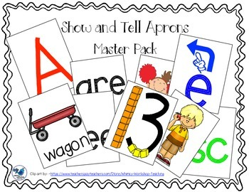Show and Tell Apron Cards - Full Master Pack