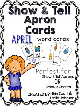 Show and Tell Apron Cards (April)