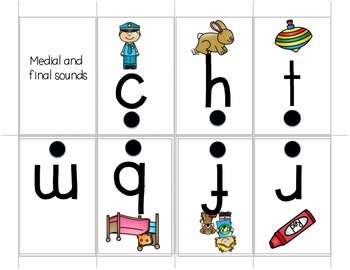 Show and Tell Apron Cards - Phonemic Awareness