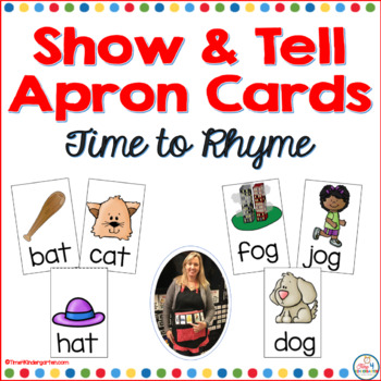 Show and Tell Apron Cards Time to Rhyme