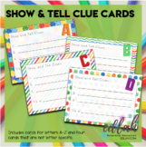 Show and Tell Clue Cards