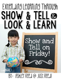 Show and Tell:  Extending the Learning!